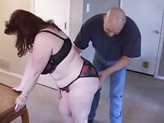 Astonishing blowjob performed by an outstanding BBW slut